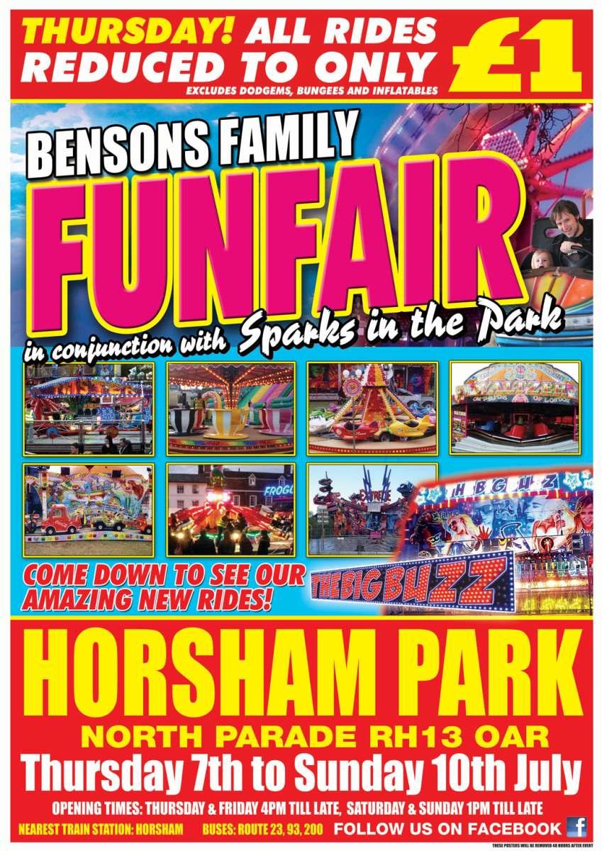 Horsham-Park-Funfair Image