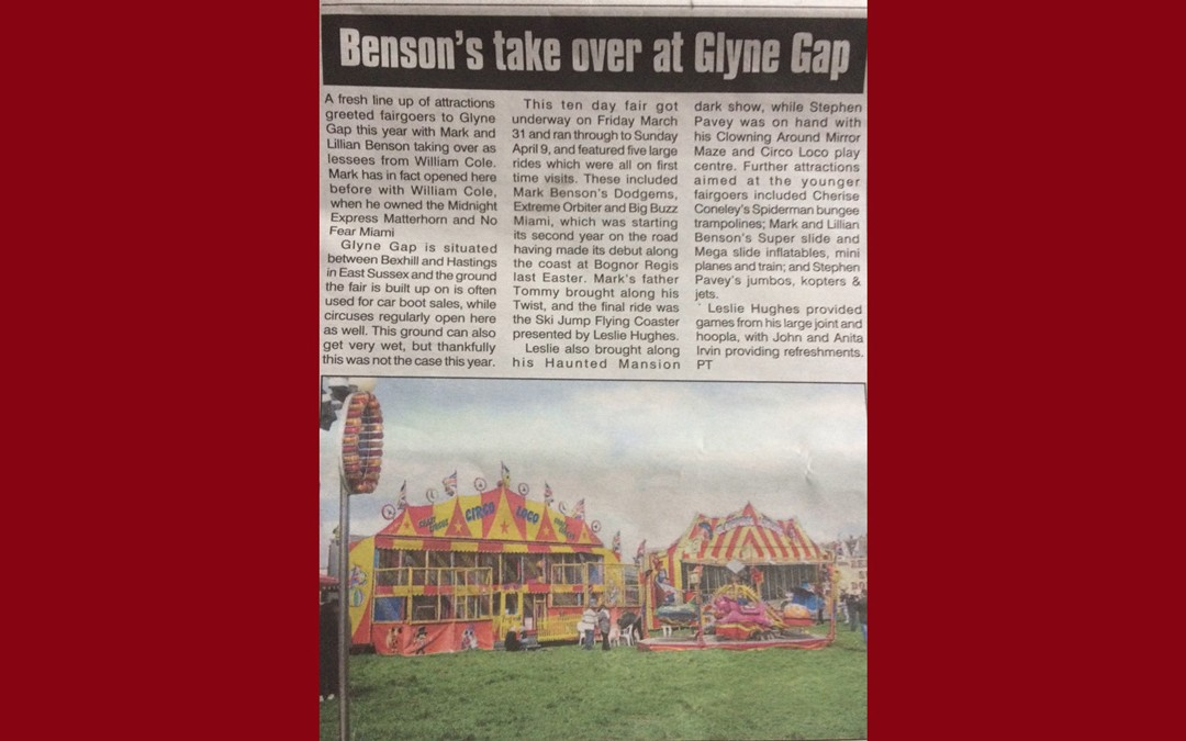 Glyne Gap Funfair – in the News