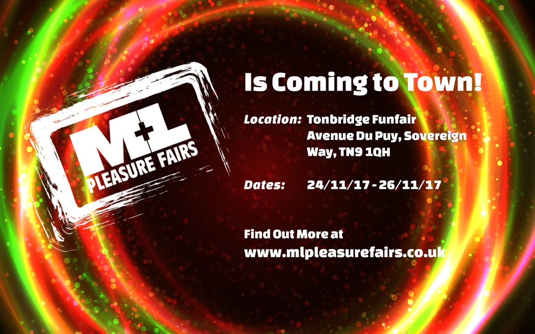 We are joining Shaws Leisure at the Tonbridge Funfair…