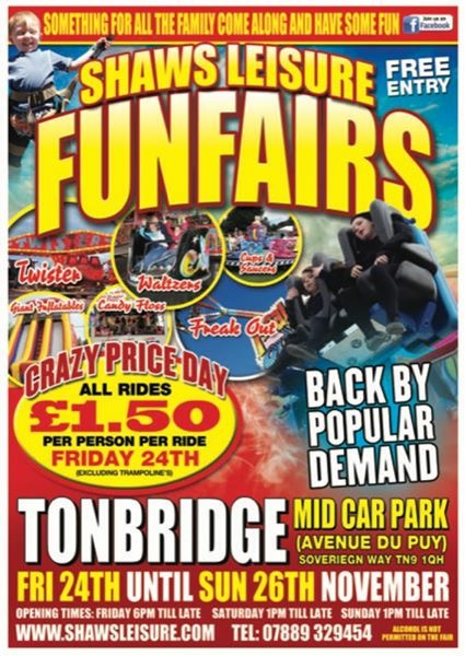 Tonbridge Funfair
