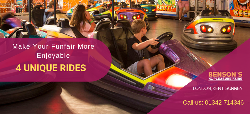 Make Your Funfair More Enjoyable With 4 Unique Rides