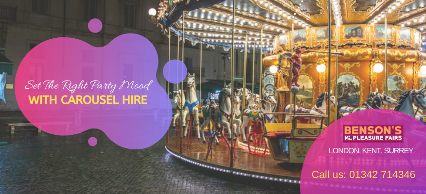 Set The Right Party Mood With Carousel Hire In London