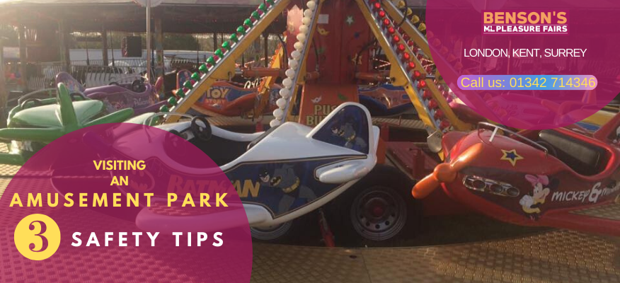 Have Fun At The Amusement Park With 3 Safety Tips