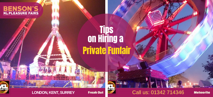 Tips on Hiring a Private Funfair – How to Make It Extreme